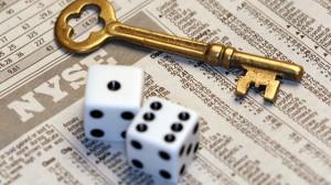NYSE Stocks Magic Key and Dice